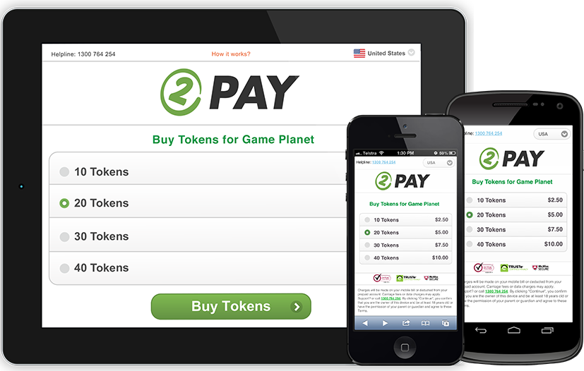 Use Tap2Pay to buy Credits